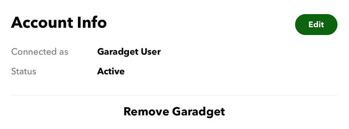 ifttt edit and remove