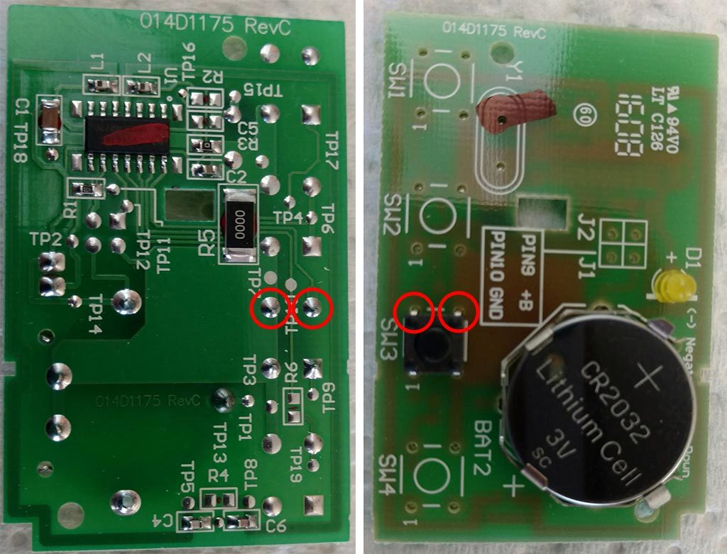 Security 20 Openers Yellow Learn Button Wiring Lift Master Remote Diagram Pcb1024x781 120 Kb