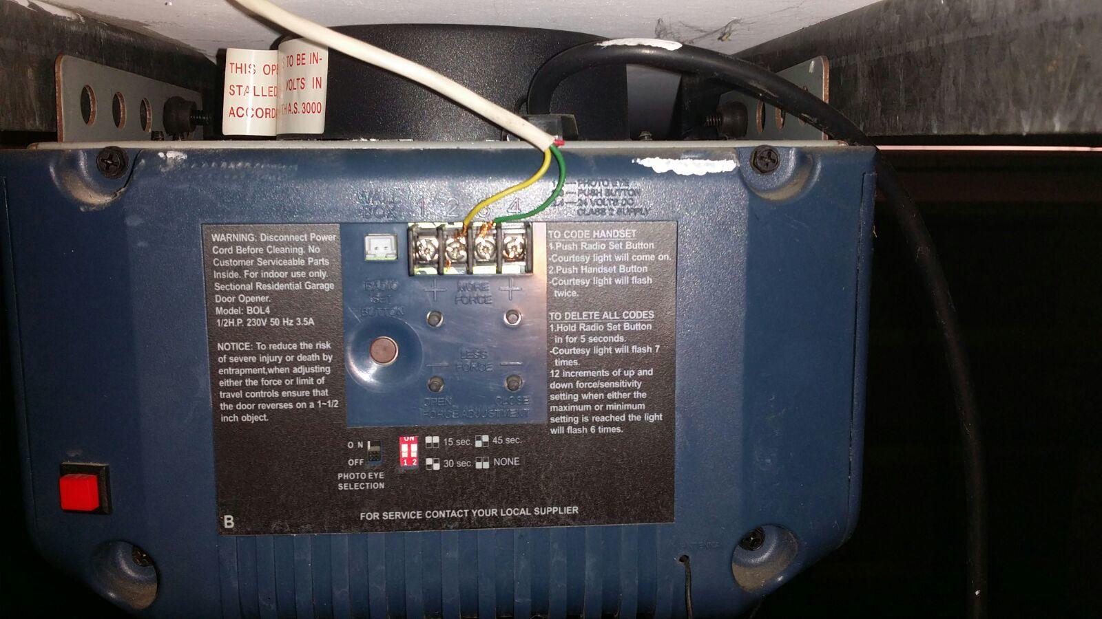 Compatible With Bol4 Garage Door Wiring Openers