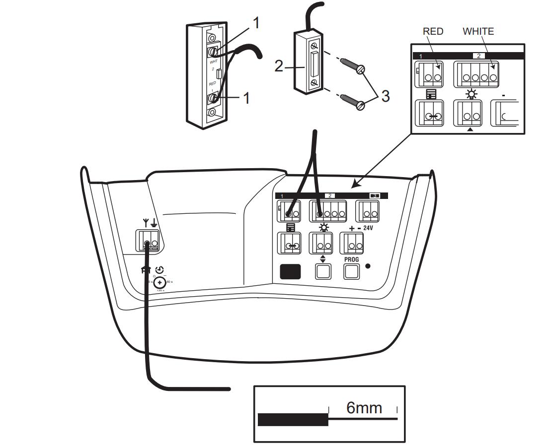 Merling MT800 - Wiring Openers - Garadget CommunityGaradget Community