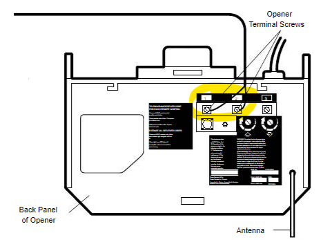 [SCHEMATICS_48YU]  Sears Craftsman 139.53* Garage Door Openers - Wiring Openers - Garadget  Community | Sears Garage Door Opener Wiring Diagram |  | Garadget Community