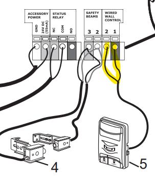 wiring openers - garadget community  garadget community