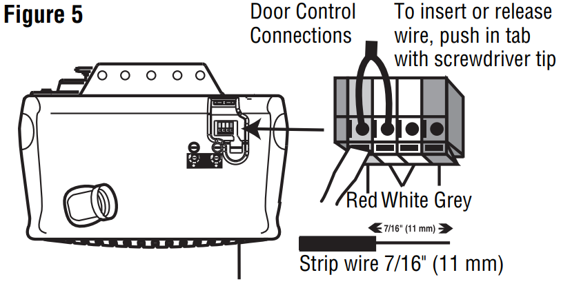 chamberlain whisper drive model 248739m - wiring openers ...  garadget community